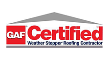 GAF Certified - Weather Stopper Roofing Contractor